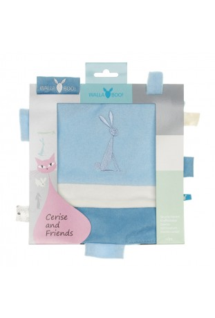 Szmatka edukacyjna Cerise and friends soft blue